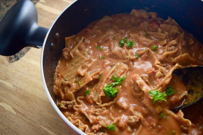 Creamy Lasagna Soup
